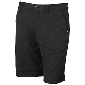 Quiksilver Mens Rock dançarina Chino Shorts - Black