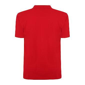 Red Plain Polo Shirt