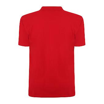 Polo-Shirt rot Plain