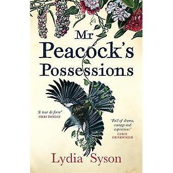 Mr Peacock's Possessions by Lydia Syson - 9781785761867 Book