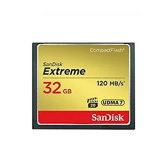 SanDisk 32GB Extreme Compact Flash Card