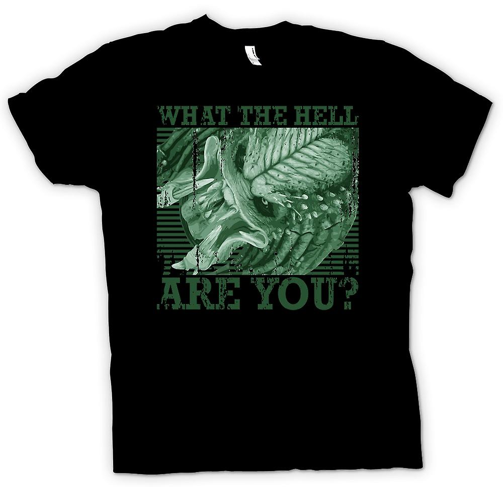 Womens T-shirt - What The Hell Are You - Predator