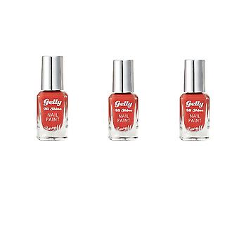 Barry M X3 Barry M - Gelly Hi Shine Nail Polish - Ginger