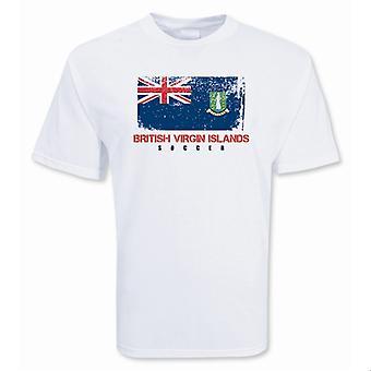 British Virgin Islands Fußball-T-Shirt