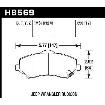 Hawk Performance HB569Z. 650 PC