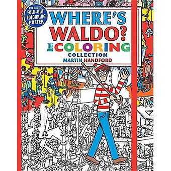 Where's Waldo? the Coloring Collection by Martin Handford - 978076369