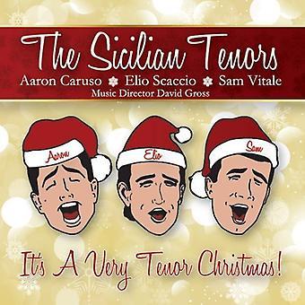Sicilain Tenors - Its a Very Tenor Christmas [CD] USA import