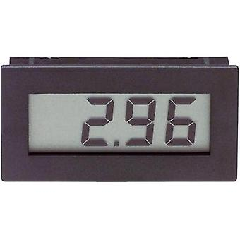 DVM 210VOLTCRAFT®Digital panel mounted measuring device, panel metersAssembly dimensions 45.5 x 22 mm