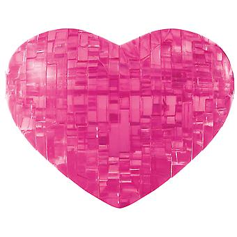 3-D Crystal Puzzle -Heart 3DPUZZLE-30937