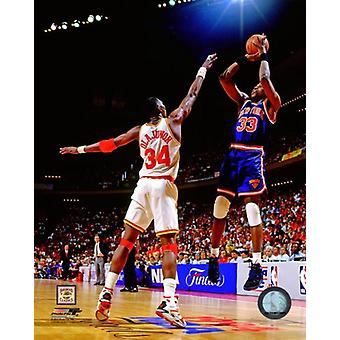 Patrick Ewing 1994 Action Photo Print