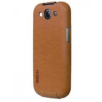 FlipStyle Skech custom jacket light brown Galaxy S3 i9300