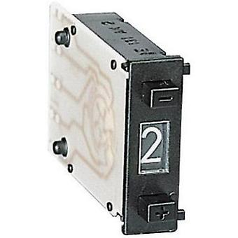 Coded rotary switch BCD 0-9 Switch postions 10 Hartmann SMC-D-131-AK-2 1 pc(s)