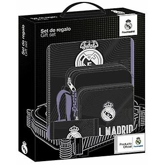 Real Madrid Set De Regalo Pequeño Real Madrid Black