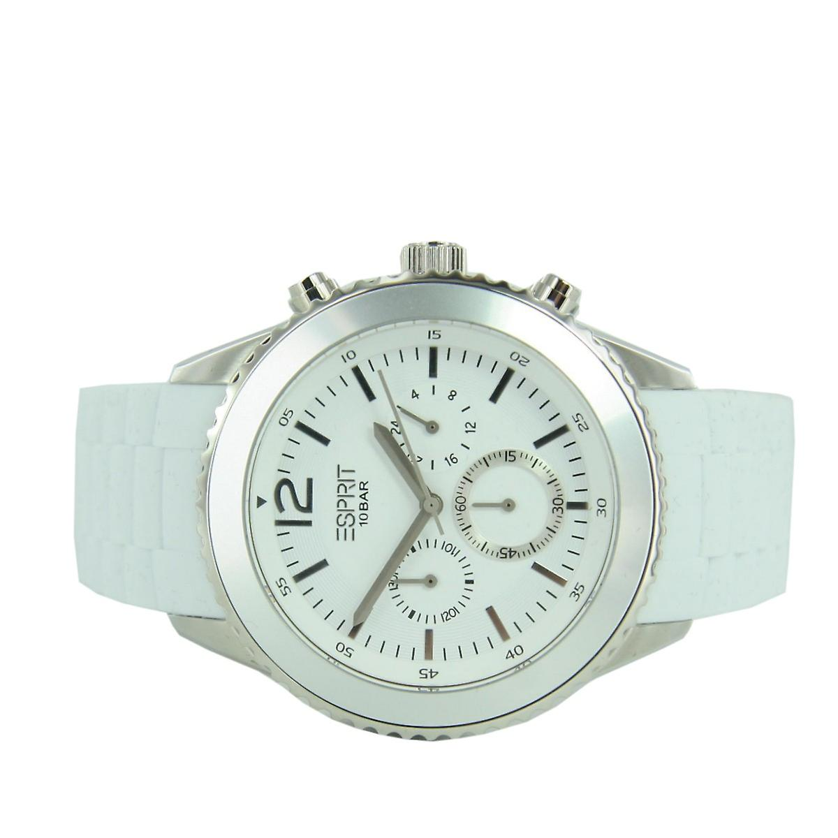 ESPRIT mens watch chronograph Marin men white ES105331010