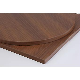 Taybon Laminate Walnut Table Top Round/Square/Oblong/Small/Large Table Tops