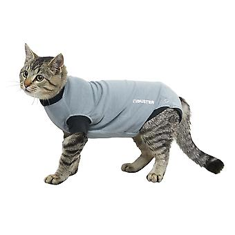 Buster Body Suit Easy Go For Cats Grey/black L43.5cm Sml