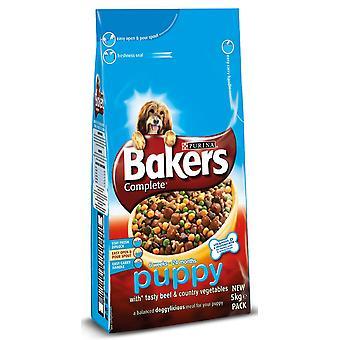 Bakers Complete Puppy / Junior Beef 5kg