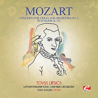 Mozart - Concerto for Violin & Orchestra No. 2 in D Major K USA import