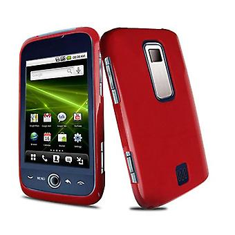 Snap-On Case for Huawei Ascend M860 - Solid Red