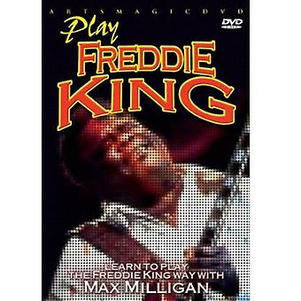 Play Freddie King [DVD] USA import