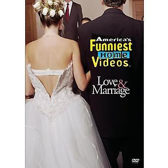 America's Funniest Home Videos: Love & Marriage [DVD] USA import