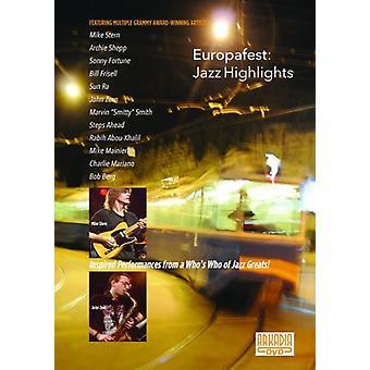 Europafest-Jazz fremhæver [DVD] USA importerer