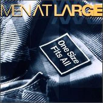 Men at Large - One Size Fits All [CD] USA import