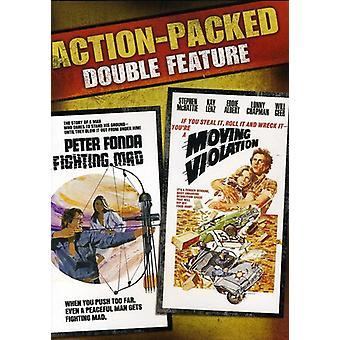 Kampf gegen Mad/Moving Verletzung [DVD] USA import