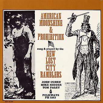 New Lost City Ramblers - importer des USA American Songs Moonshine & interdiction [CD]