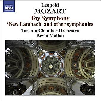 L. Mozart - Leopold Mozart: Leksak symfoni [CD] USA import