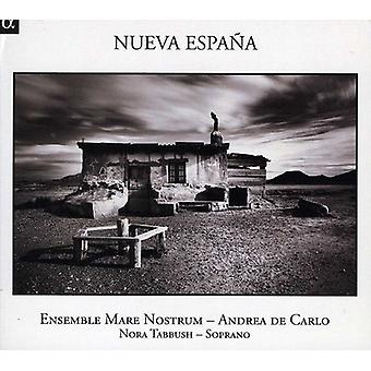 NORA Tabbush & Ensemble Mare Nostrum - Nueva Espa en [CD] USA import