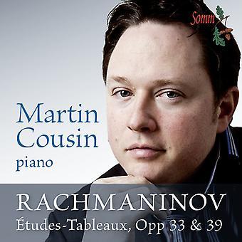 Rachmaninov - Etudes-tableauer Op 33 & 39 [CD] USA import