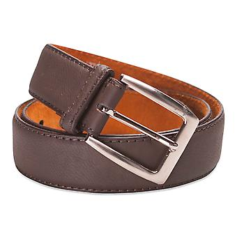 Hawkdale Mens Real Nubuck Leather Belt  1.25'' Width Genuine Jeans Belts 8R-F24