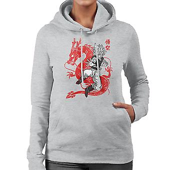 Dragonball Z Son Goku Women's Hooded Sweatshirt