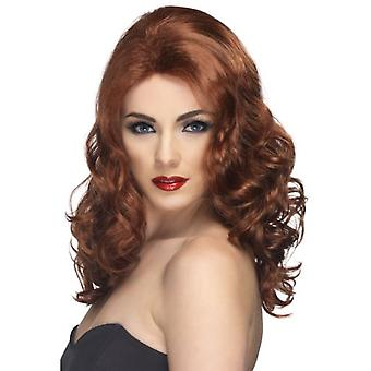 Smiffys Glamorous Wig Auburn Long And Wavy (Costumes)