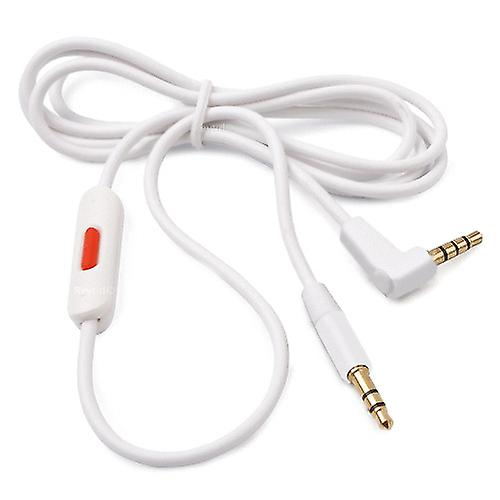 REYTID] Replacement WHITE Audio Cable for Apple Beats Solo2 / HD ...