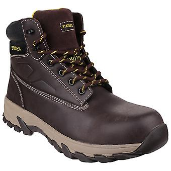 Stanley Mens Tradesman Lace Up Penetration Resistant Safety Boots