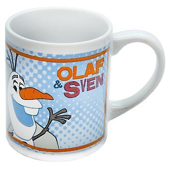 ディズニー冷凍オラフ ・ スヴェン ・子供の 8 オンス陶器のマグカップ