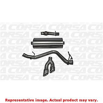 CORSA Performance Cat Back Exhaust 14871 Polished Fits: CHEVROLET 2014 - 2014 S