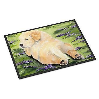 Carolines Treasures  SS8833MAT Golden Retriever Indoor Outdoor Mat 18x27 Doormat