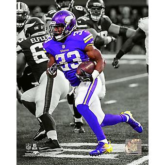 Dalvin Cook 2017 Spotlight Action Photo Print