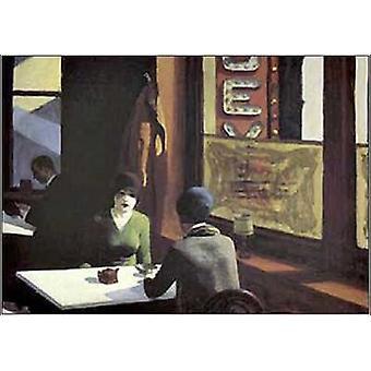 Chop Suey Poster Print by Edward Hopper (32 x 24)