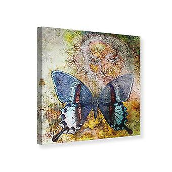 Canvas Print Ornament Schmetterling