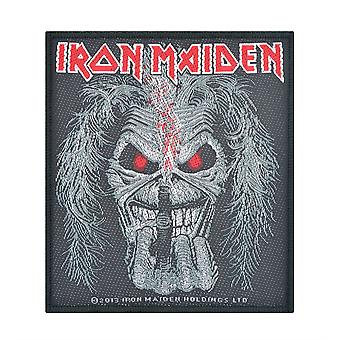 Iron Maiden Eddie Candle Finger vævet Patch