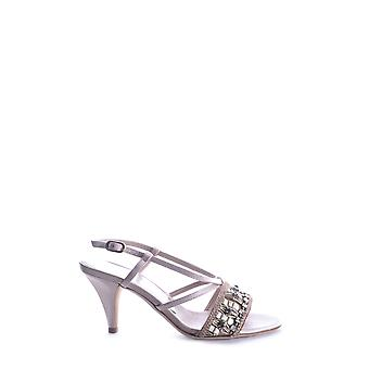 Alberta Ferretti ladies MCBI011003O pink leather sandals