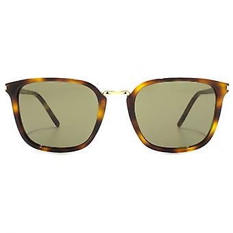 Saint Laurent SL 131 Combi Sunglasses In Havana