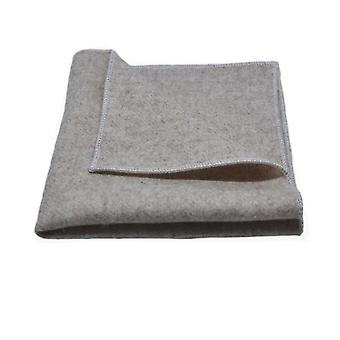 Stonewashed Oatmeal Pocket Square, Handkerchief
