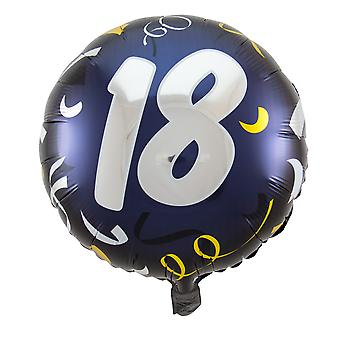 Foil balloon birthday number 18 great day about 45 cm