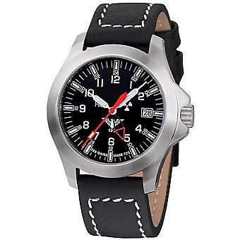 KHS horloges mens watch peloton GMT LDR KHS. PGLDR. LBB