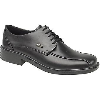 Cotswold Mens Stonehouse Leather Waterproof Casual Oxford Shoe Black